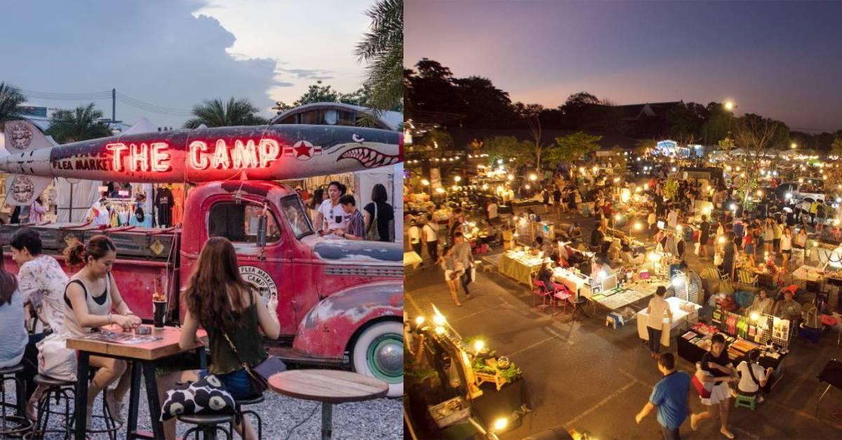 去曼谷除了吃喝玩乐还能这样做!盘点靠近地铁就能去到的夜市!