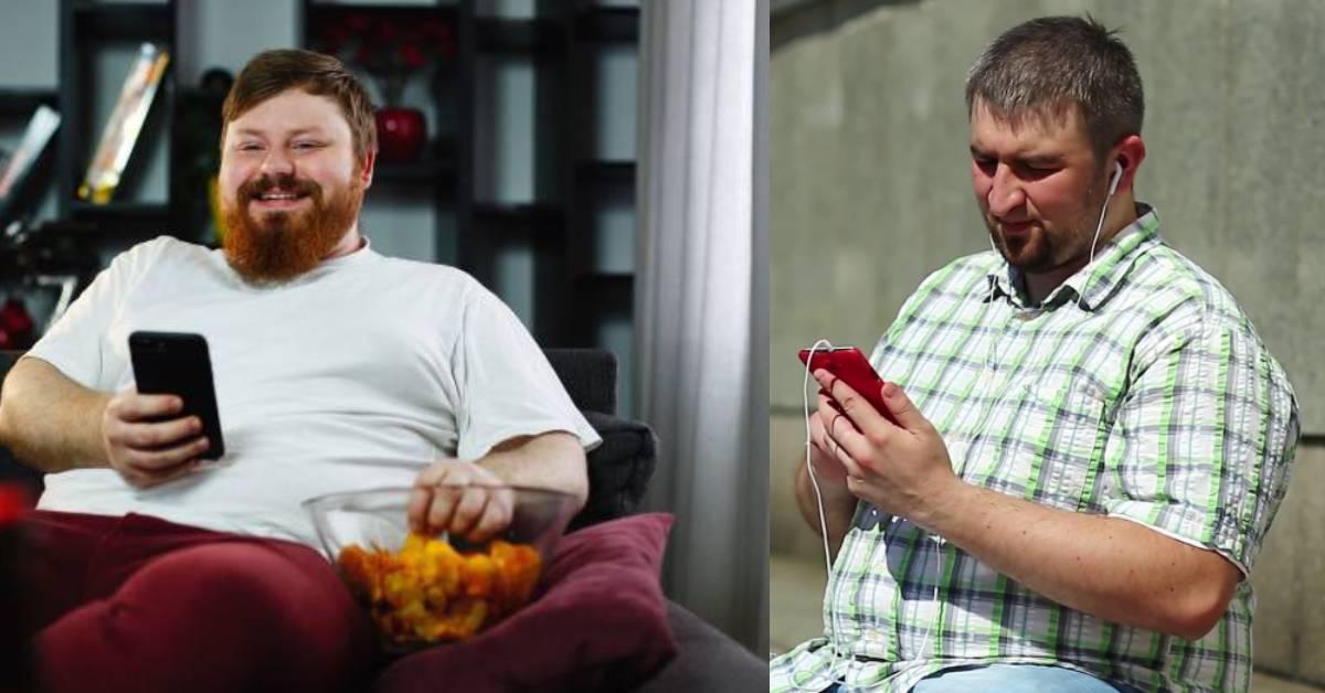 躺着玩手机也中枪!研究显示:每天按电话会增加变肥的机率!