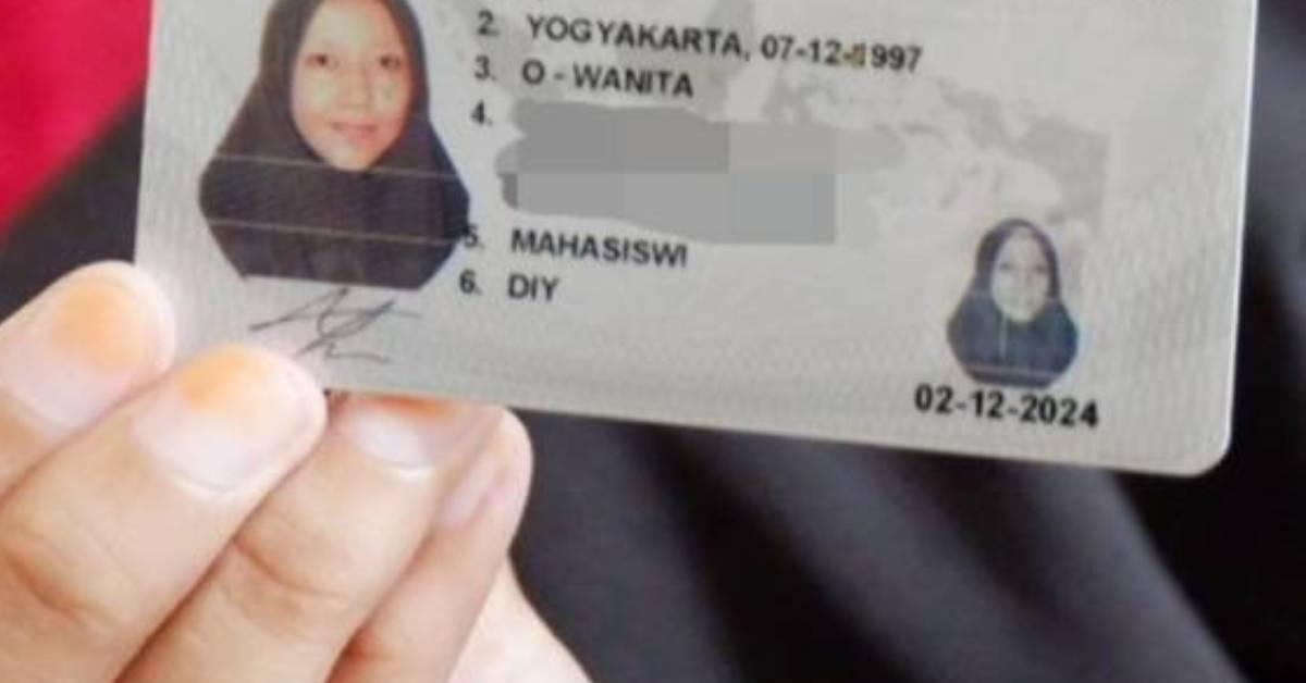 印尼女大学生有着世界上最简单的名字!只有一个字母!