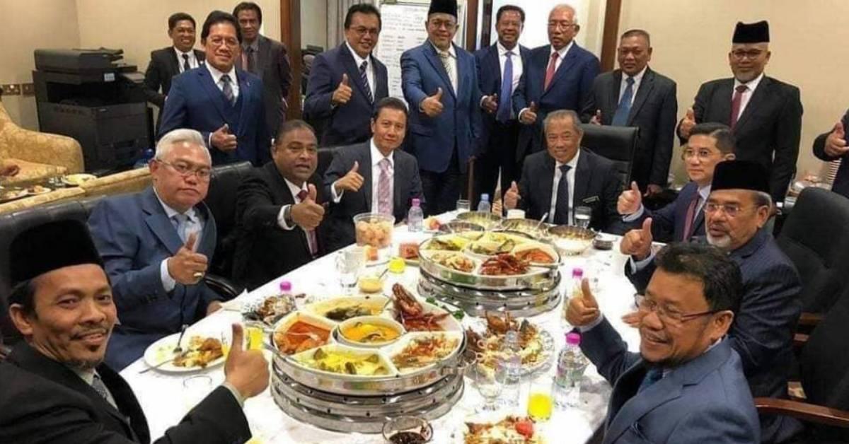 疫情期间国会议员豪吃喝玩乐!一餐可以吃掉超过RM6000?