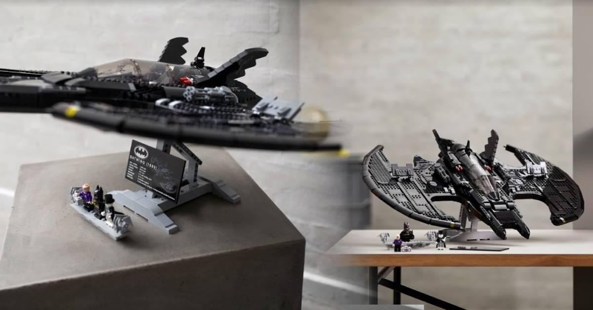 LEGO 76161蝙蝠战机积木套组曝光!里面竟有他!