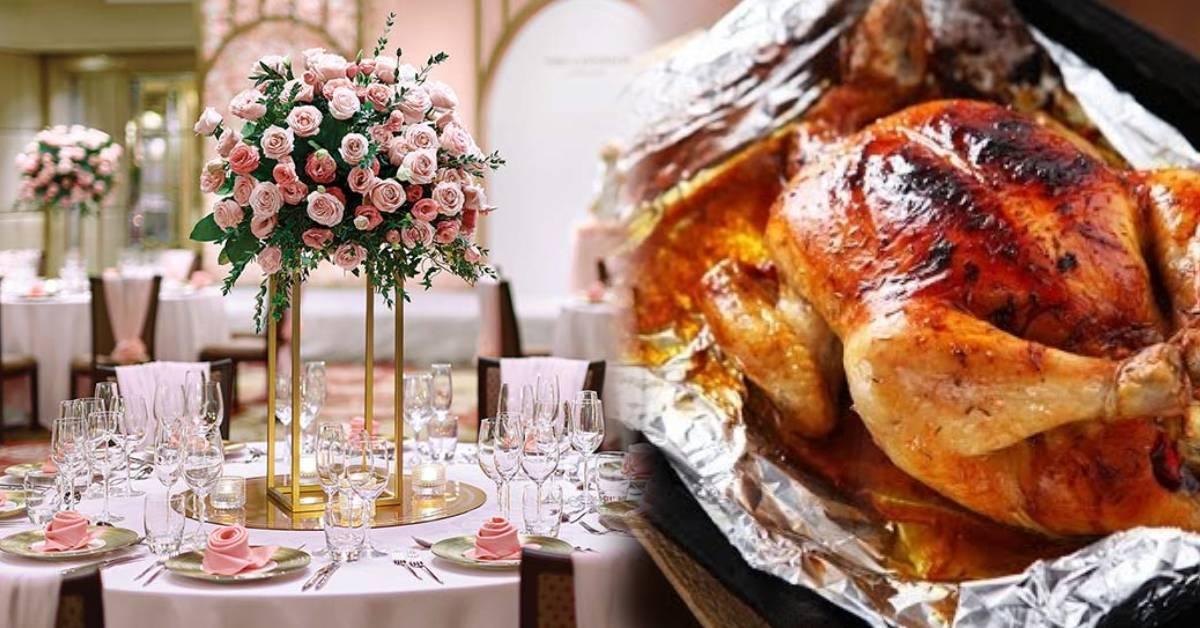 新人将婚宴礼金分成4个级别!RM1000是最低级,只能吃烤鸡?