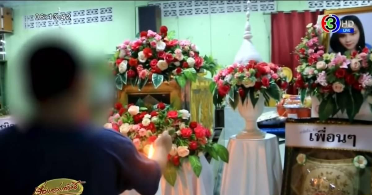 男子为爱妻举行葬礼!6岁儿子瞬间成为孤儿?