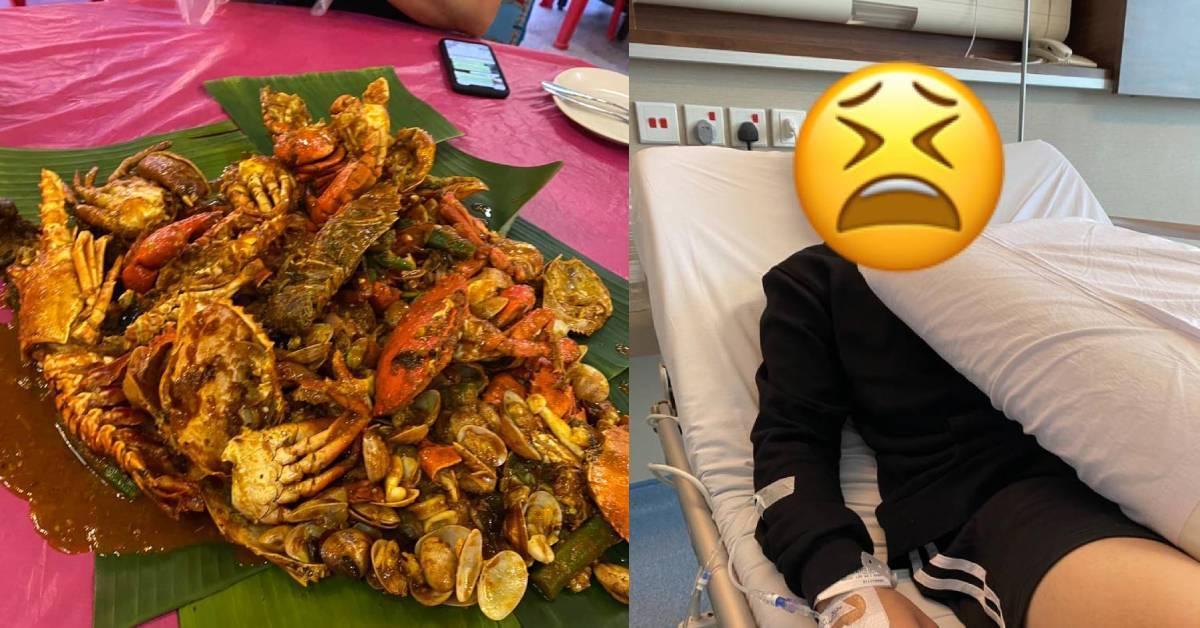 槟城著名海鲜店HamiXX被曝食物不新鲜!顾客们齐齐食物中毒?
