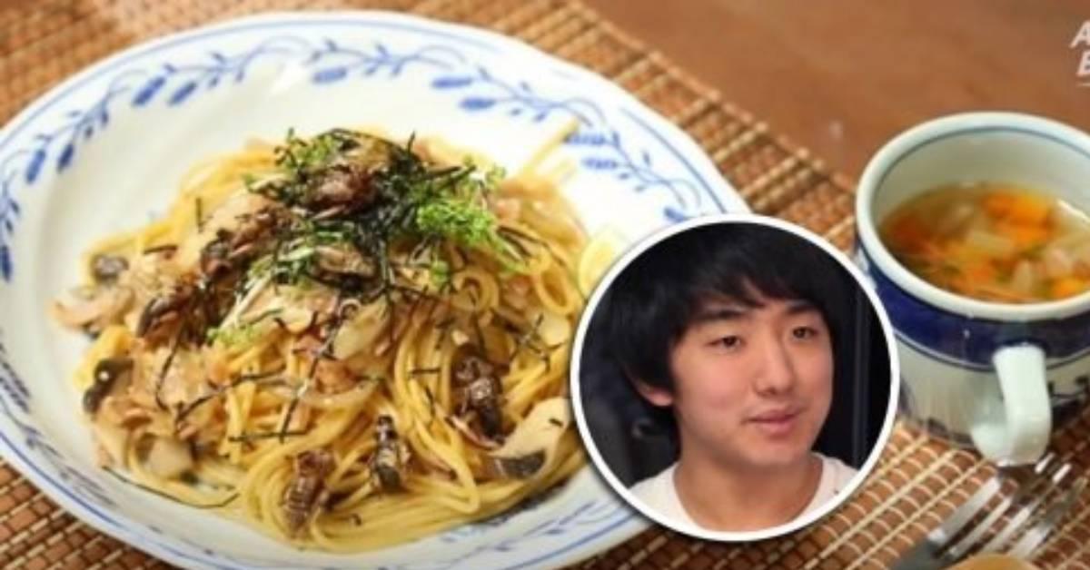 日本男子宣扬吃虫文化获世人支持!曾与蟑螂谈恋爱令网友头皮发麻!