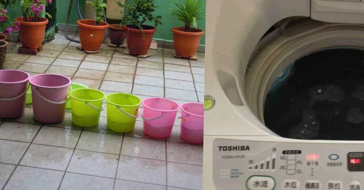 网友妈妈超狂省钱方式令人抓狂!洗衣的水都是用雨水,厕所还不要冲!