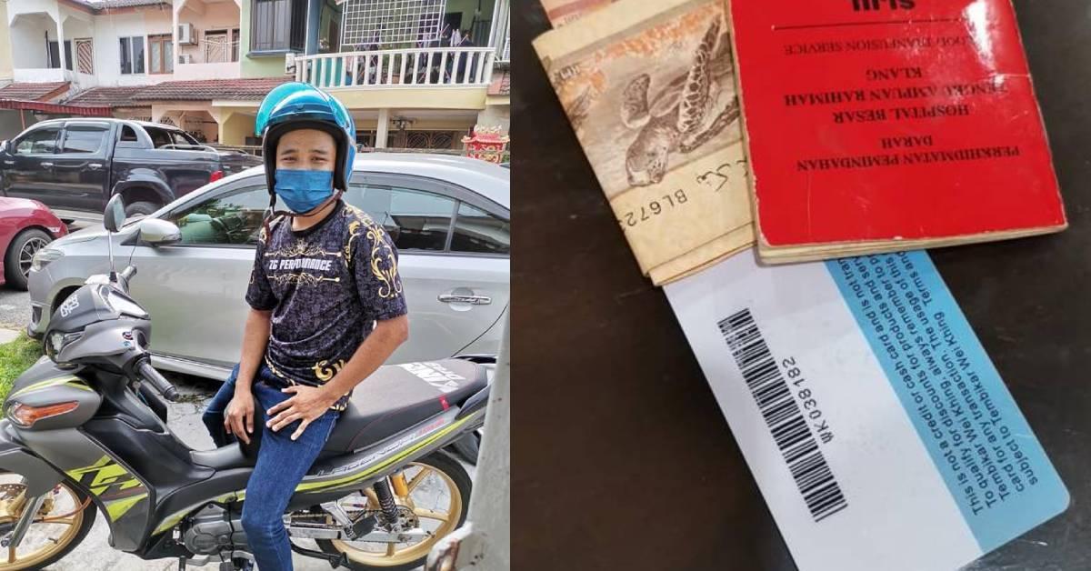 马来同胞拾了RM160不私吞!Google Maps找人全数归还!