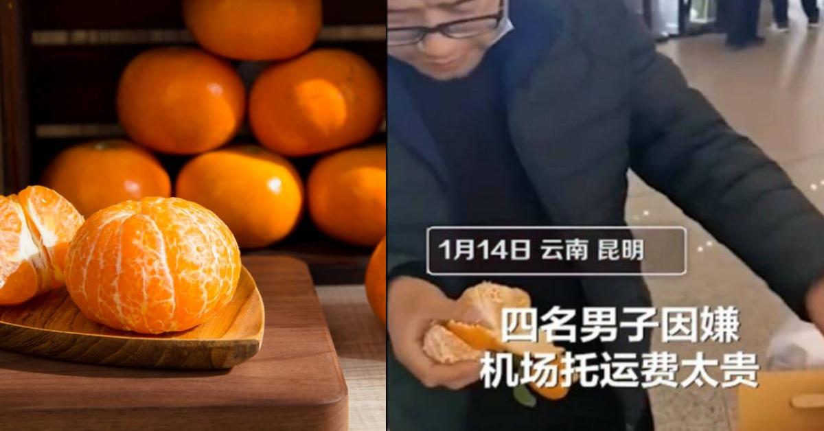 男子当场吃掉30公斤橘子!背后原因竟让人傻眼!