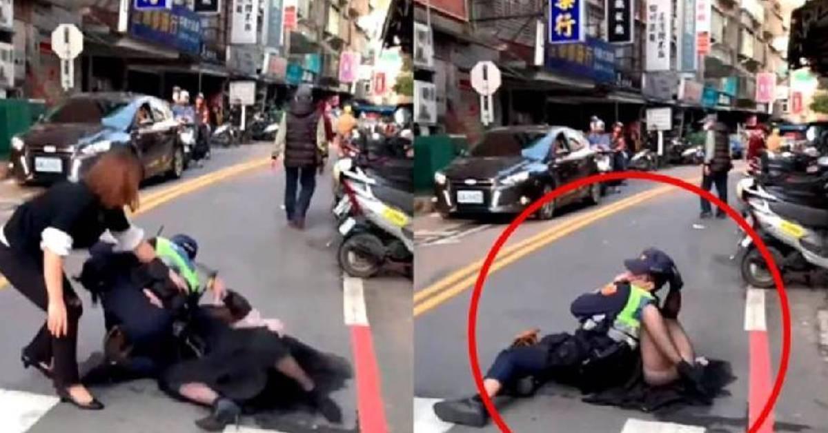 BMW车主违规停车被吊不甘心! 事后大骂警察还动手打人?