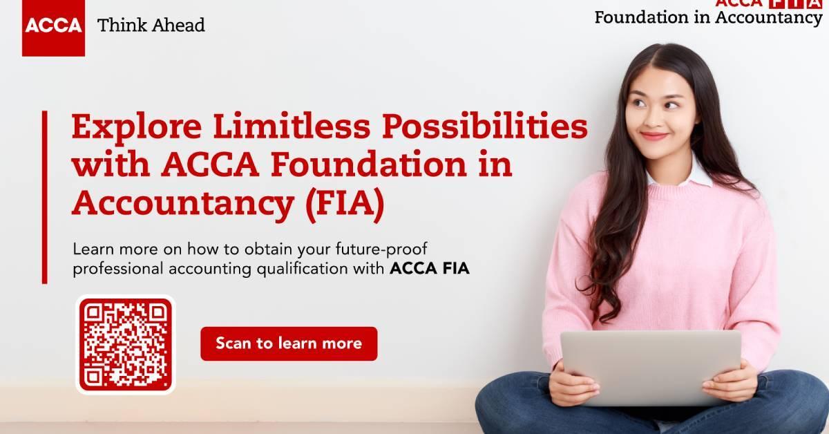 要升学的你不容错过!ACCA与高等学府合作为学生提供100万令吉助学金!