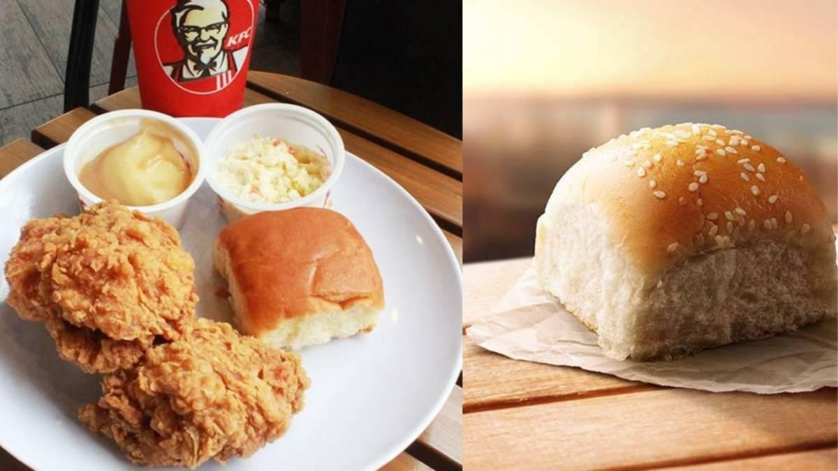 大马人吃KFC小面包的6种吃法!很多人都爱这样吃,你肯定有中!