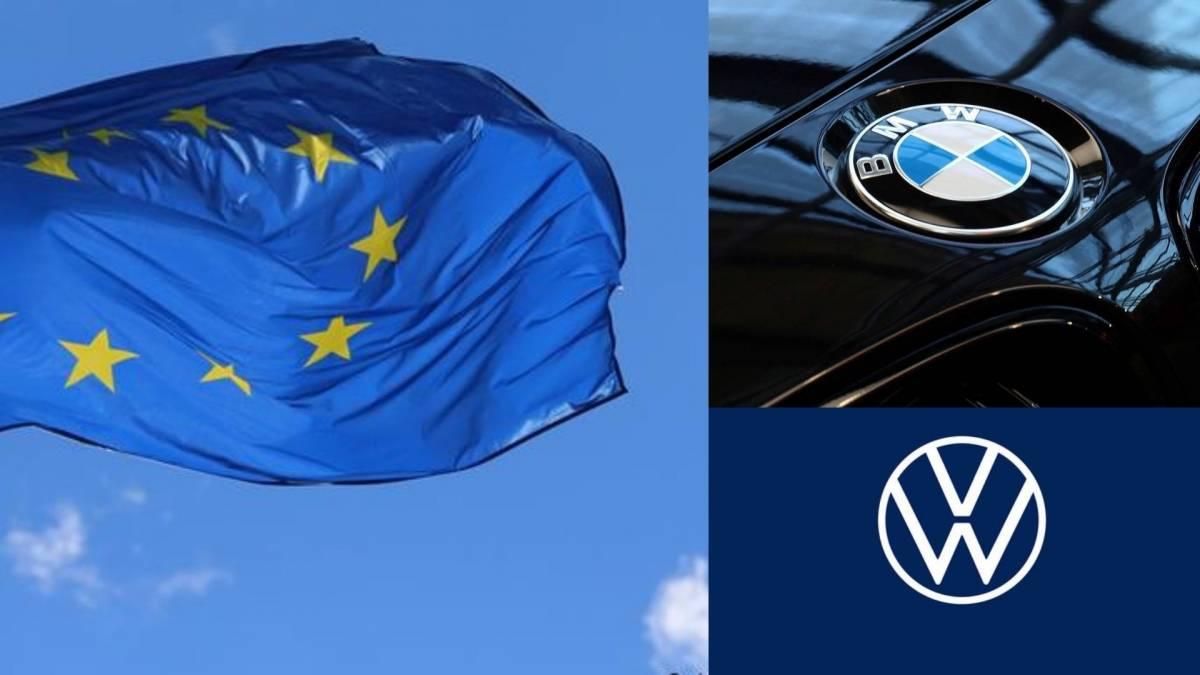 合谋限制柴油引擎减排技术!BMW和Volkswagen遭欧盟罚款8.8亿欧元!