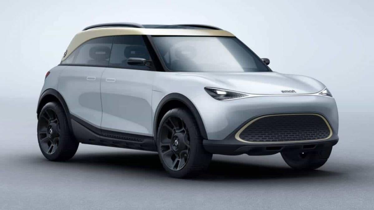 Daimler和吉利联手打造!Daimler Smart电动概念车亮相慕尼黑车展!