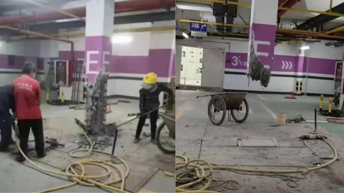 """男子花RM130k买下parking位,因""""这理由""""直接把旁边柱子打掉!"""
